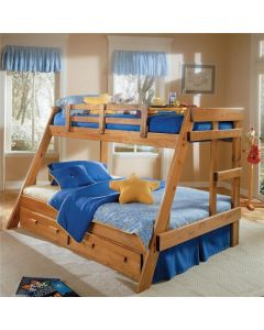 #231 - Wood T/F Bunk Bed W/O Mattresses - 58799